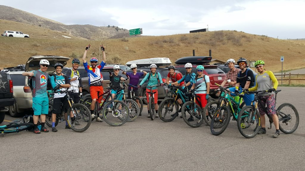 Colorowdies group ride