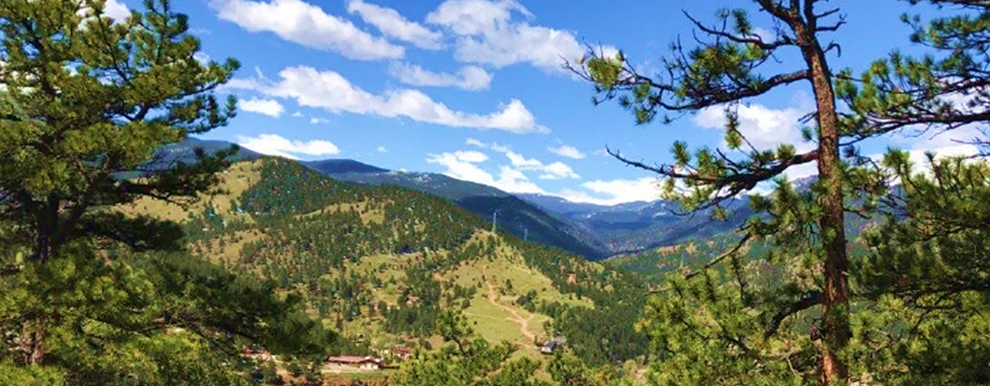 Area 28 Idaho springs mountain biking trails